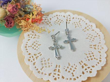 Cross, Decoration Products, Girls, Woman, Fashion
