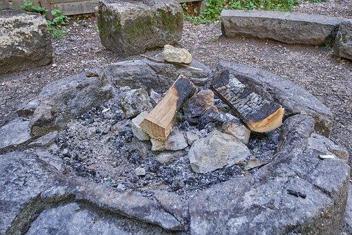 Fireplace, Fire, Burn, Embers, Campfire, Wood, Hot