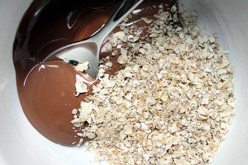 Chocolate, Oatmeal, Food, Sweet, Dessert, Snack, Oat