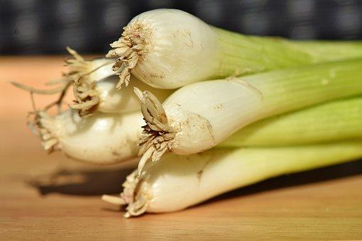 Leek, Spring Onions, Onions, Vegetables, Plant, Food