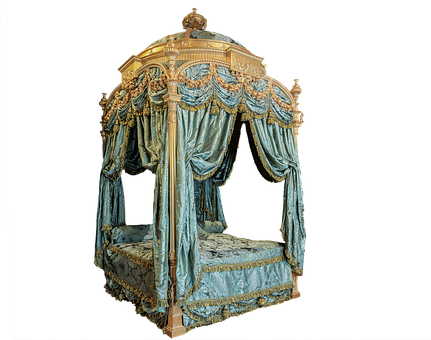 Four Poster Bed, Historically, Princess, Harewood House