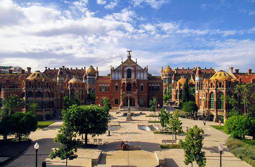 Barcelona, Modernism, Sant Pau, Unesco, World Heritage