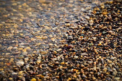 Beach, Pebble, Water, Stones, Pebbles, Pebble Beach