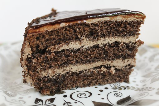 Cake, Piece Of Cake, Cooking, Baking, Sweets, Food