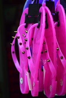 Shoes, Plastic, Plastic Shoes, Sandals, Pink, Summer