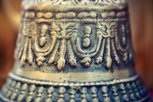 Bell, Prayer Bell, Bronze Bell, Ring, Metal, Sound