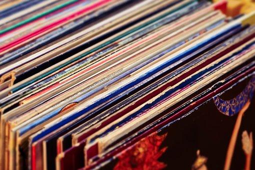 Records, Vinyl, Music, Tinge, Macro, Analog, Background
