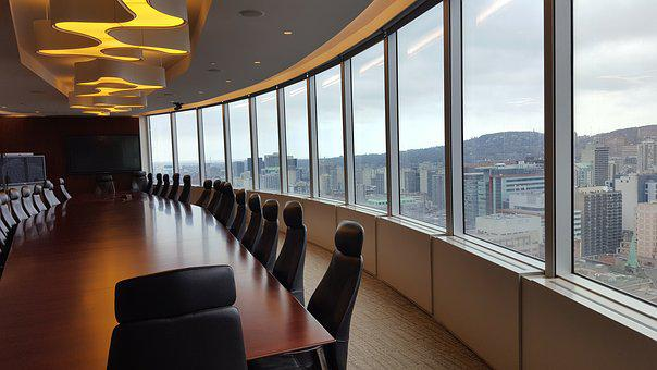 Boardroom, City, Office, Business, Room, Conference