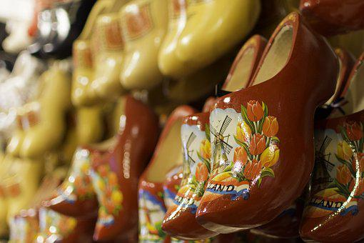 Clogs, Shoes, Display, Sandals, Collection, Traditional