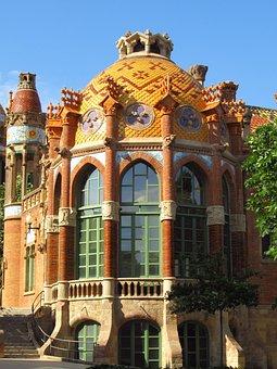 Barcelona, Sant Pau, Art Nouveau, Unesco