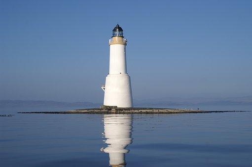 Lighthouse, Sea, Water, Beacon, Light, Marine, Nautical