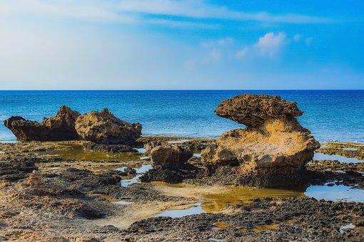 Rock, Formation, Landscape, Shore, Coast, Erosion