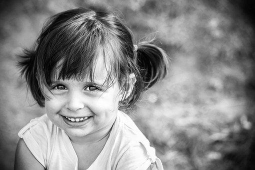 Little Girl, Smile, Eyes, Portrait, Innocent, Nice