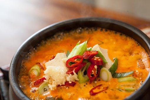 Soybean, Korean, Korean Food, Nabe, Food, Soup