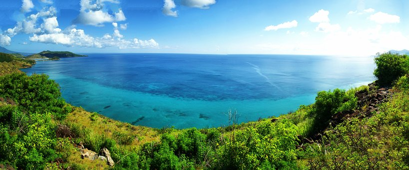 Caribbean, Tropical, Antilles, Mountain, St Kitts