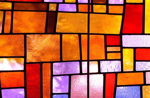 Texture, Stained Glass Windows, Colorful, Stained Glass