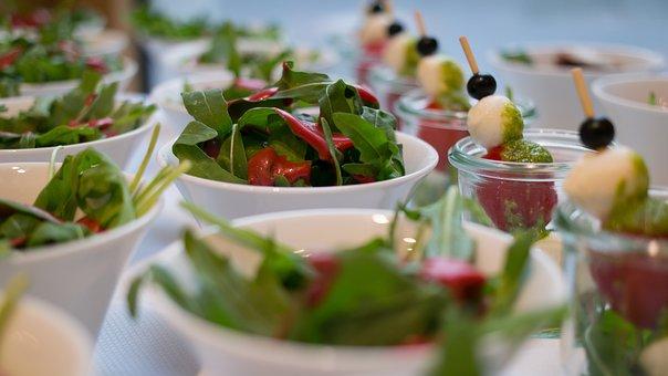 Salad, Starter, Healthy, Food, Eat, Green, Salad Plate