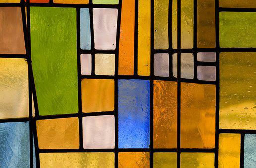 Texture, Stained Glass Windows, Stained Glass, Colorful