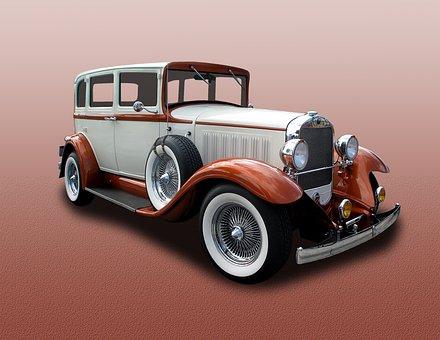 Studebaker, 4-door, Sedan, Thirties, Luxury