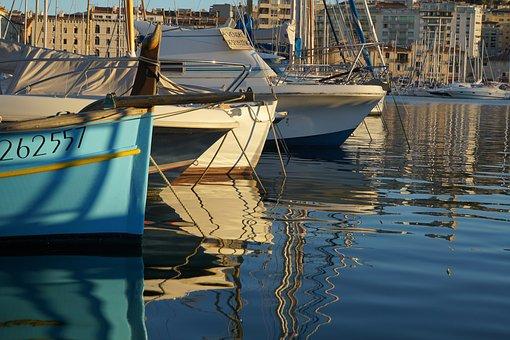 Sea, Yachts, Boat, Dock, Water