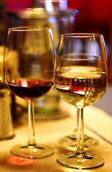 Wine Glass, Wine, Red Wine, White Wine, Alcohol
