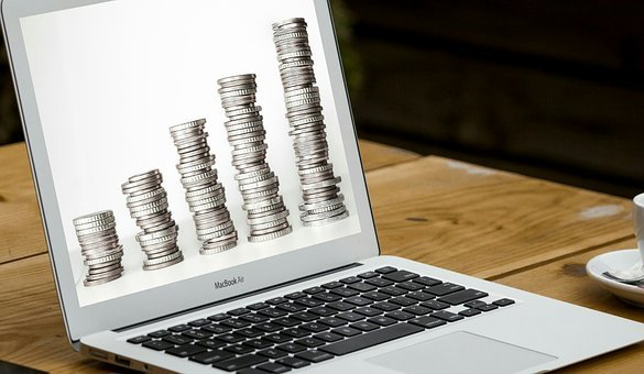 Euro, Laptop, Account, Business, Cash, Coin, Commerce