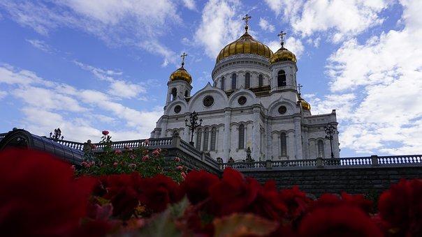Church, Russian, Architecture, Orthodox, Religion