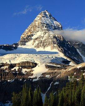 Mt, Assiniboine, Canada, Mountain, Peak