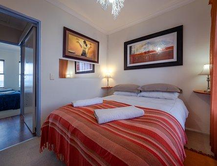 Bedroom, Room, Bed, Hotel, Interior, Furniture, Home