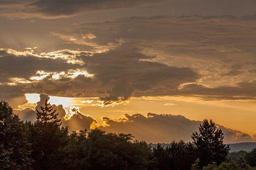 Sunset, Sun, Bulgaria, Light, Sky, Clouds, Beautiful