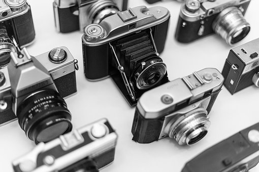 Vintage, Retro, Classic, Cameras, Photo, Camera