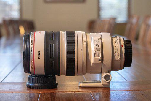 Lens, Canon, Close Up, Photography, Digital, Technology