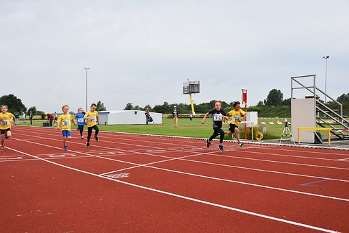 Competition, Track And Field, Athletics, Race