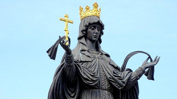 Empress, Queen, Girl, Woman, Sculpture, Krasnodar