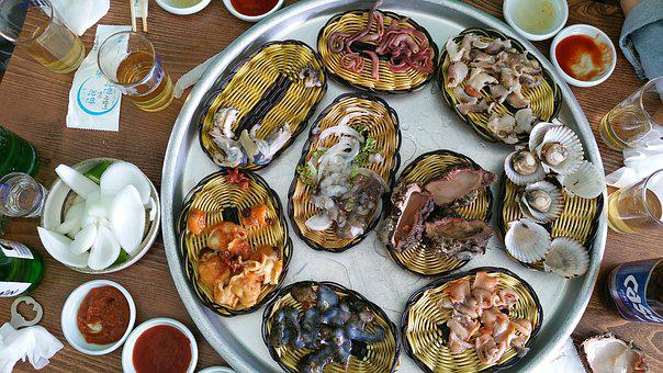 Softening And, Seafood, Food, Delicious, Restaurant
