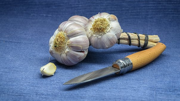 Garlic, Cook, Spice, Food, Healthy, Kitchen