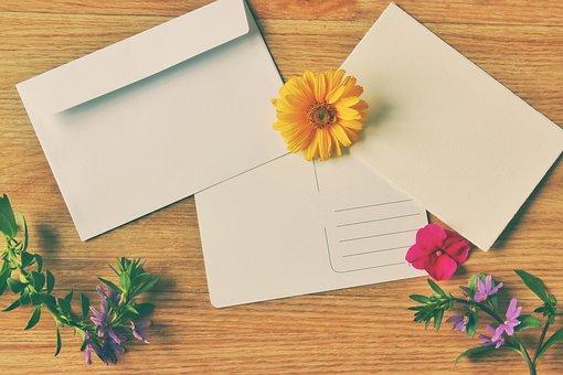 Postcard, Envelope, Vintage, Greeting Card, Greeting