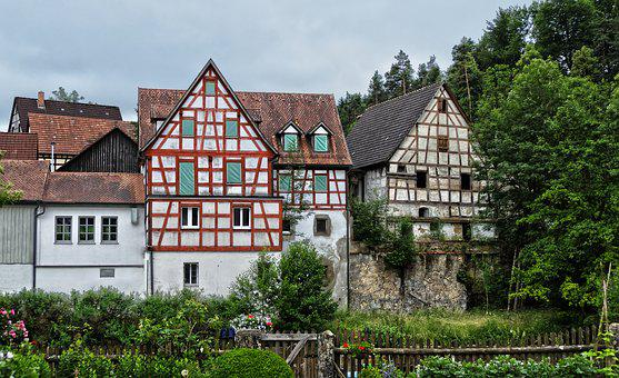 Old Town, Fachwerkhaus, Historically, Building