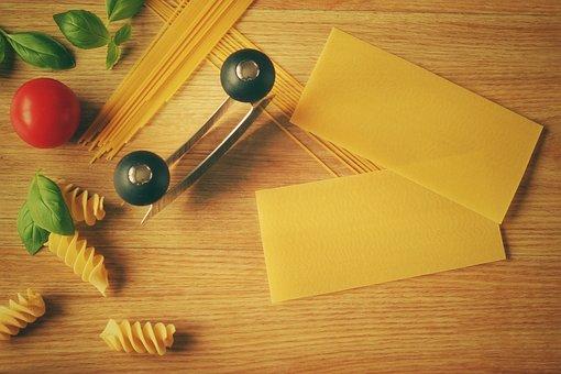 Kitchen, Lasagna, Pasta, Noodles, Italy, Spaghetti