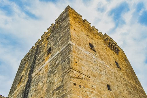 Cyprus, Kolossi, Castle, Medieval, Fortress, History