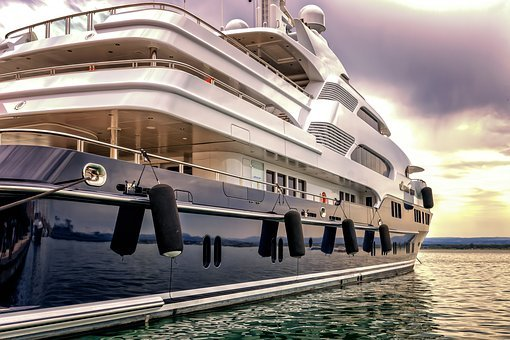 Boat, Yacht, Port, Luxury, Vacations, Maritime, Ship