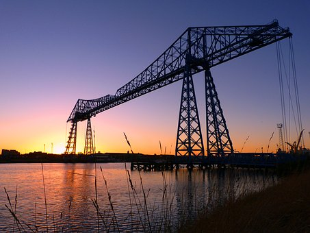 Middlesbrough, Transporter Bridge, Bridge, England