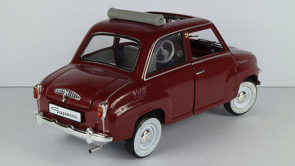 Goggomobil, T 250, 1955, T250, 1x18, Model Car, Revell