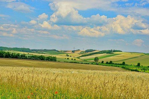 Nature, Landscape, Panorama, Sky, Clouds, Agriculture