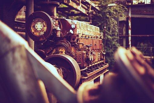 Engine, Diesel, Old, Vintage, Motor, Machine, Mechanic