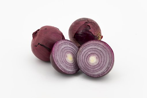 Onion, Red Onion, Vegetables, Onions, Bolle, Zipolle