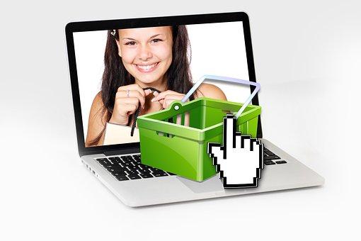 Purchasing, Online, Shopping, Shopping Cart