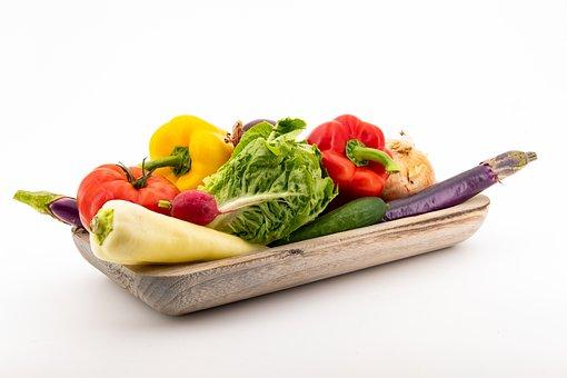 Vegetables, Paprika, Eggplant, Zucchini, Cucumber