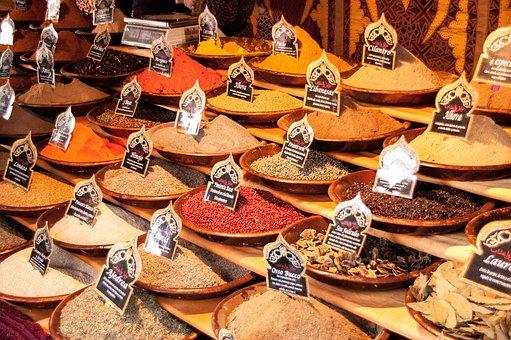 Market, Food, Ingredient, Pepper, Spicy, Bazaar