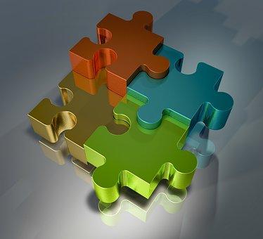 Puzzle, Pieces Of The Puzzle, Connection, Puzzles